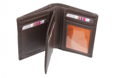 Mala Brown Leather Origin Bi Fold Shirt Pocket Wallet With RFID Protection Style 172 5